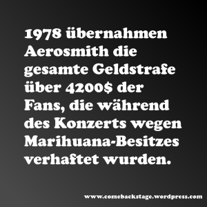 aerosmith fact